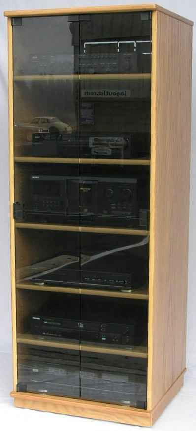 Stereo component rack